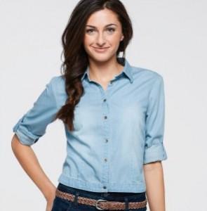 С чем носить женскую рубашку